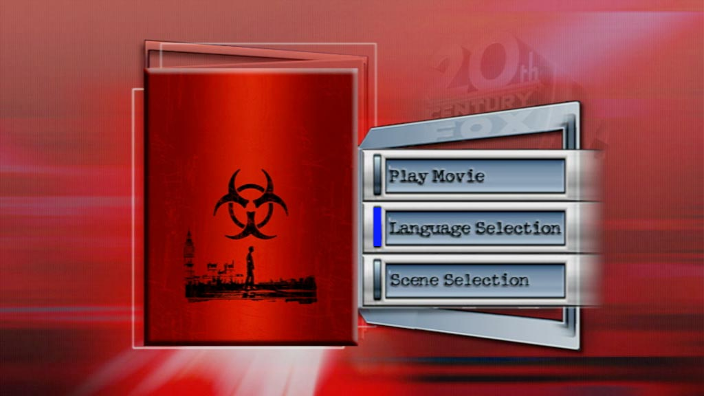 28 Days Later DVD-menu fail